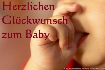 Baby Tochter Geburt Glueckwunsch