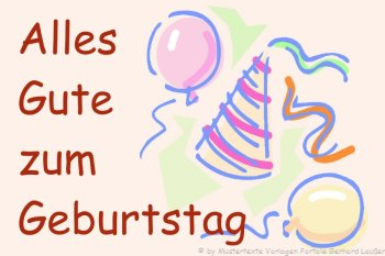 SMS Sprüche Geburtstag