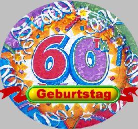 lustige Glückwünsche zum 60 Geburtstag Geburtstagssprüche ...