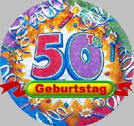 Gratulation 50 Geburtstag Wuensche