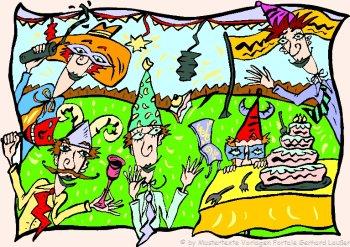 witzige Spiele Geburtstag Kinder