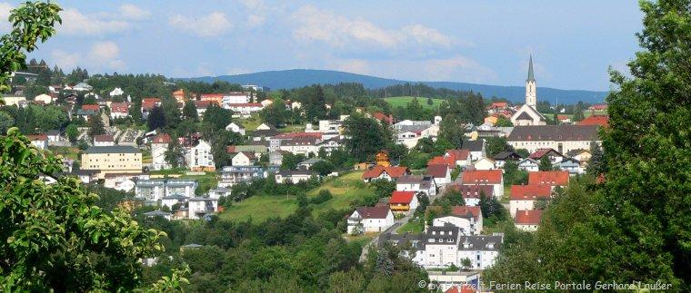 Ferien Unterkünfte im Bayerischen Wald Stadt Freyung